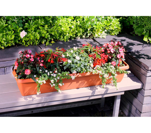 Geli Kunststoff-Blumenkasten Aqua Andalucia