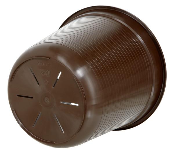 Geli Kunststoff-Einsatz, braun, rund