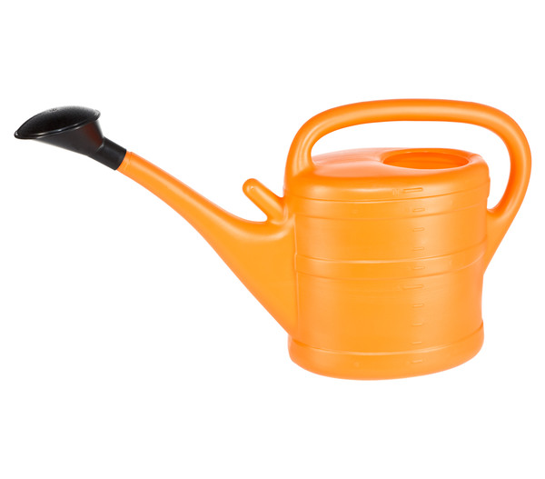 Geli Kunststoff-Gießkanne mit Gießbrause, 10 Liter