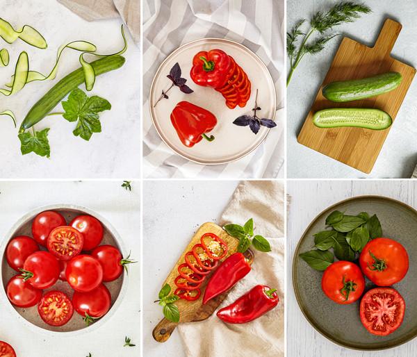 Gemüsepaket Bio-Mix, 6 Pflanzen