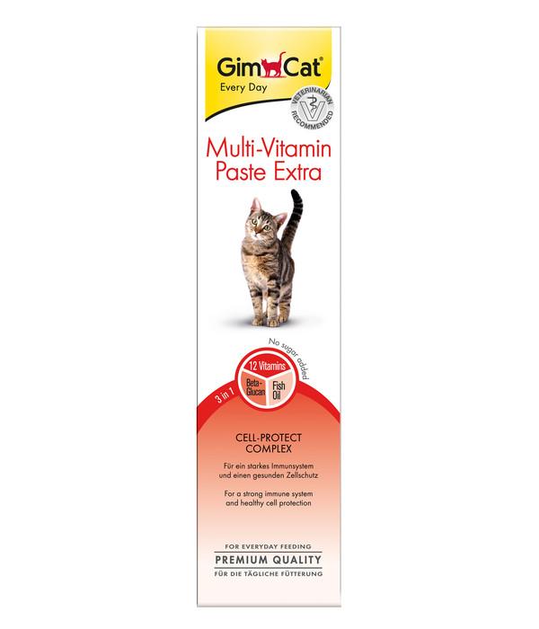 GimCat® Ergänzungsfutter Multi-Vitamin Paste Extra, 200g