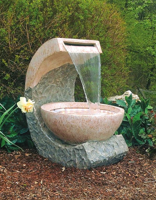Granimex Polyresin-Gartenbrunnen Cuvette