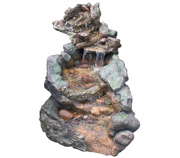 Granimex Polystone-Bachlauf Hong He, 128 x 41 x 128 cm