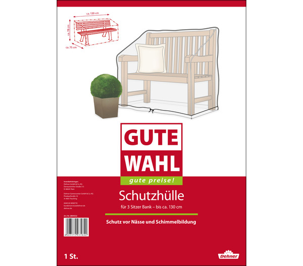 gute wahl schutzh lle f r b nke 130 x 75 x 80 cm dehner. Black Bedroom Furniture Sets. Home Design Ideas
