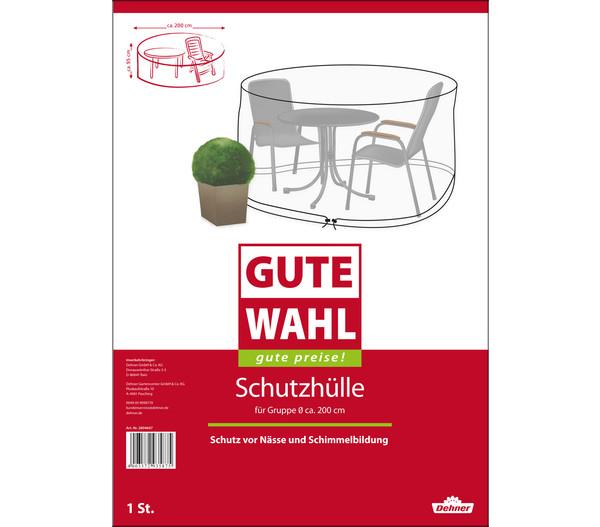 Gute Wahl Schutzhülle für Sitzgruppen, Ø 200 x 95 cm