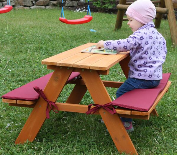 Habau Kinder Picknickbank, 89 x 79 x 50 cm
