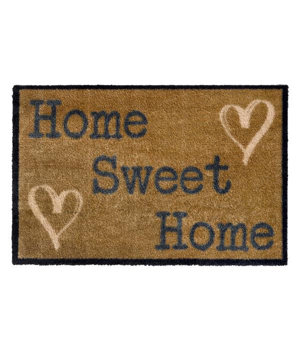 Hamat Fußmatte Fusion Dry Home Sweet Home, ca. B75/H50 cm