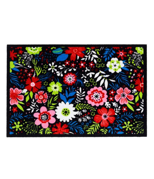 Hamat Fußmatte Mondial Blue Flower, ca. B60/H40 cm