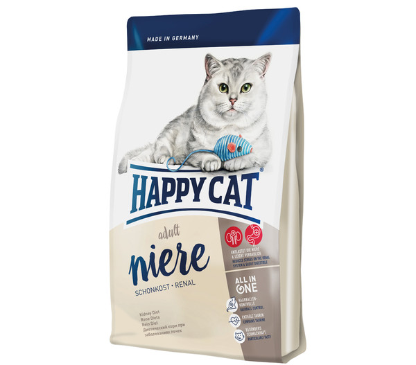 happy cat supreme adult niere schonkost renal trockenfutter dehner. Black Bedroom Furniture Sets. Home Design Ideas