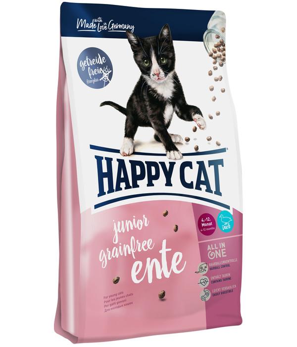 Happy Cat Trockenfutter Junior, Grainfree Ente
