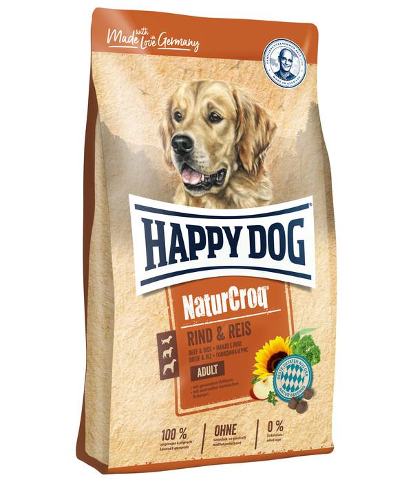 Happy Dog Trockenfutter NaturCroq Adult, Rind & Reis