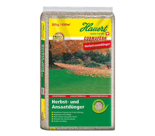 Hauert 20 kg Cornufera Herbst- & Ansaatdünger