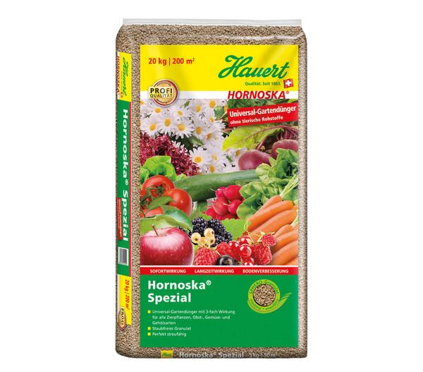 Hauert 20 kg Hornoska Spezial Universal-Gartendünger