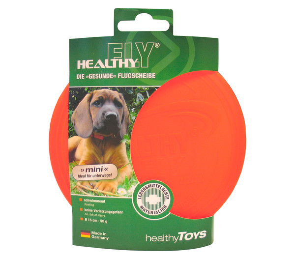 Healthy Fly Mini Hundespielzeug, Ø 15 cm