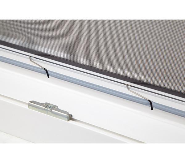 Hecht Fliegengitter Fensterbausatz Basic, braun