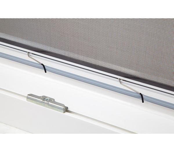 Hecht Fliegengitter Fensterbausatz Master Slim, 150x160 cm