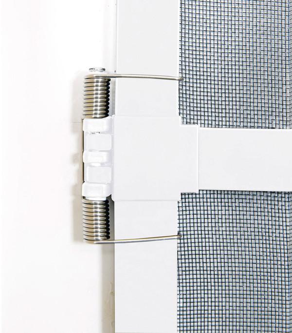 Hecht Fliegengitter Türbausatz Basic, 100x210 cm