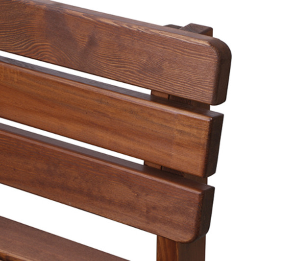 Holzbank Tessin, 3-Sitzer