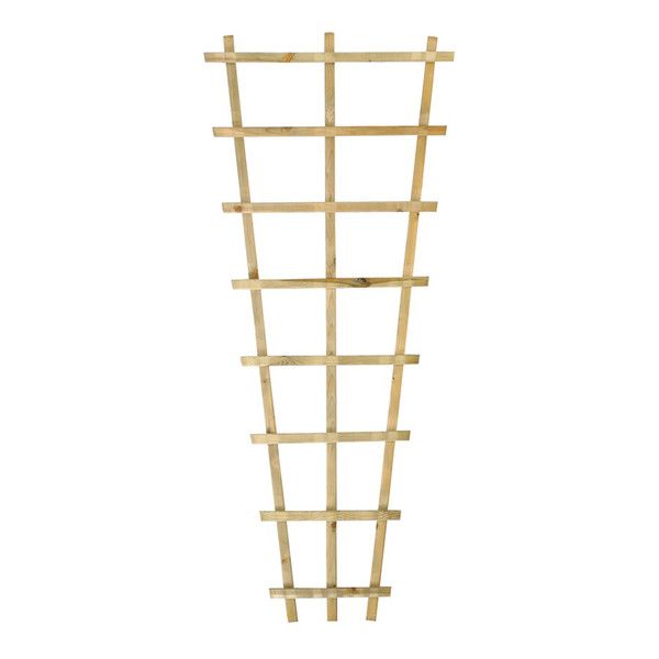 Holz-Trapezrankgitter, 180 cm