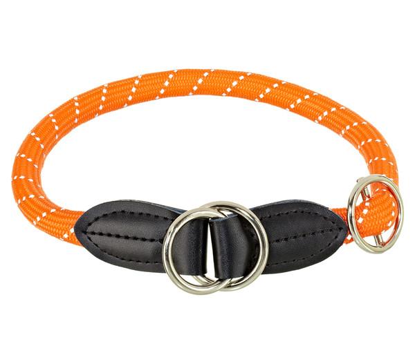 "HUNTER Dressurhalsband ""Freestyle Reflect"", orange"