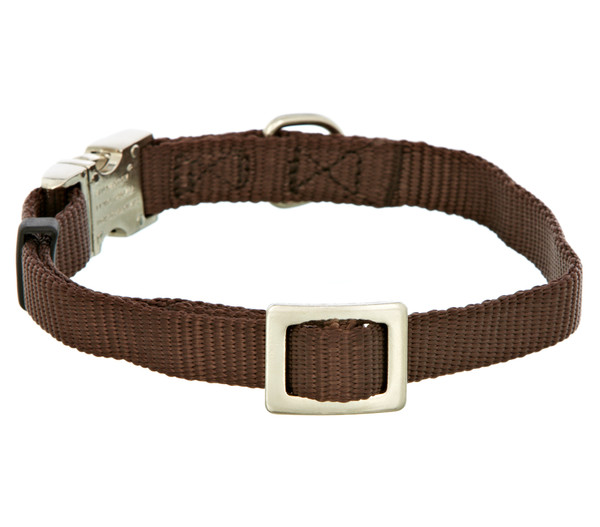 HUNTER® Hundehalsband Vario Basic Alu Strong, braun