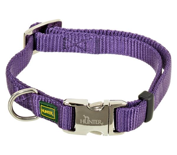 HUNTER Hundehalsband Vario Basic Alu Strong, violett