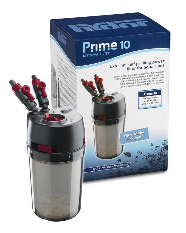 hydor Außenfilter PRIME 10 mit Filtermedien