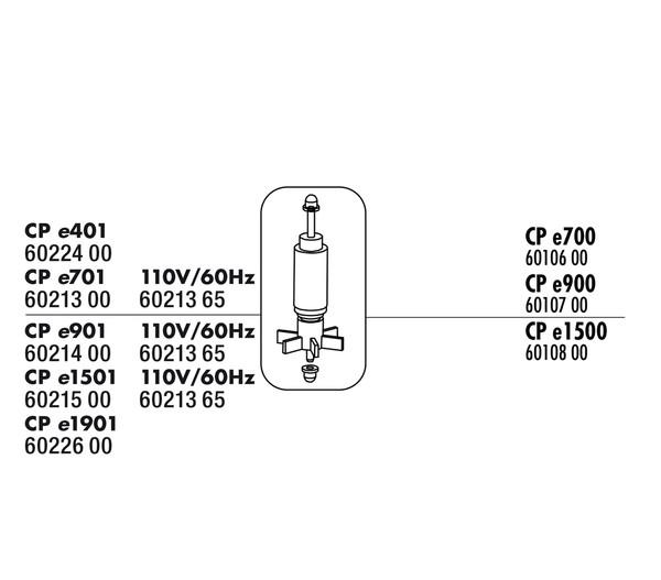 JBL CPe Rotor-Set für CristalProfi e700
