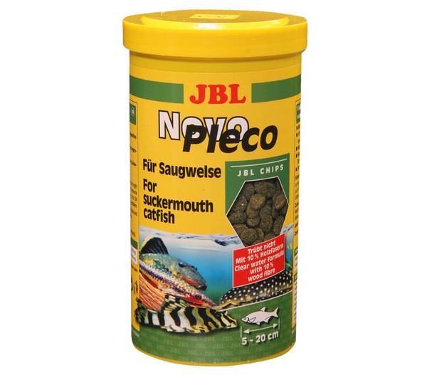 JBL Fischfutter NovoPleco für Saugwelse, 1 Liter