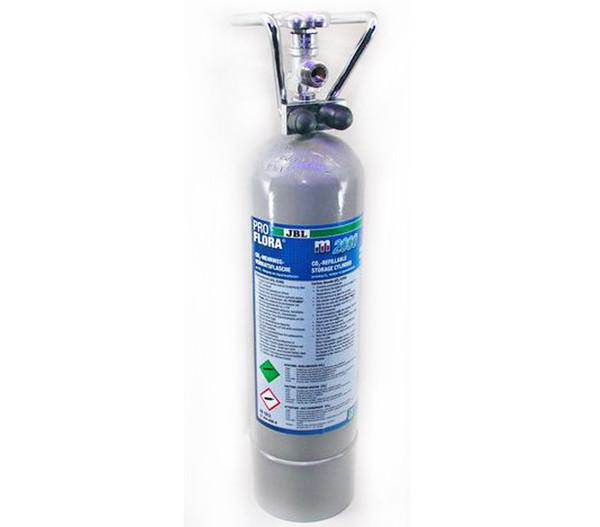 JBL ProFlora m2000 Silver CO2-Mehrweg-Vorratsflasche, 2 kg