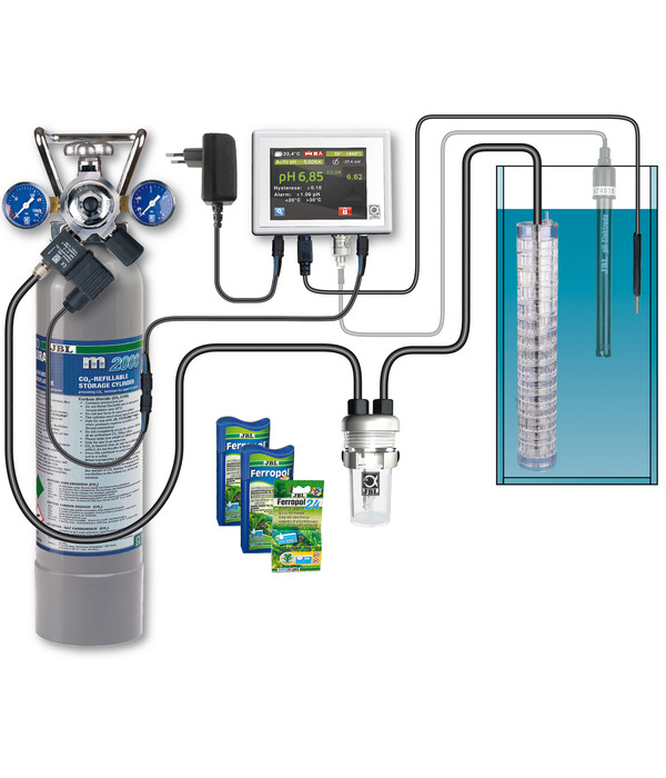 JBL ProFlora m2003 CO2-Set Mehrweg