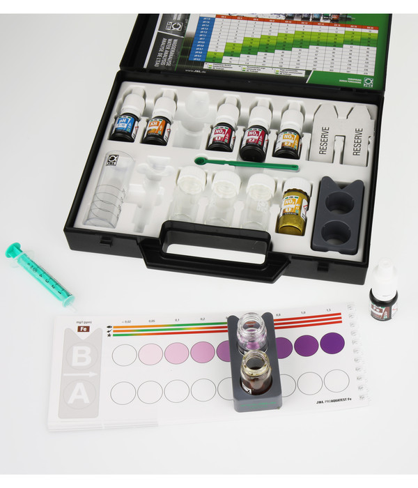 JBL Wasseranalyse ProAquaTest® Combiset Plus Fe