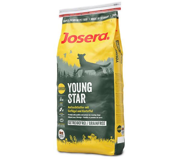 Josera Trockenfutter Junior Young Star mit Geflügel & Kartoffel