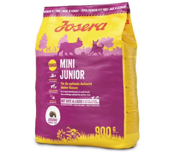 Josera Trockenfutter Mini Junior Welpenfutter, 5 x 900g