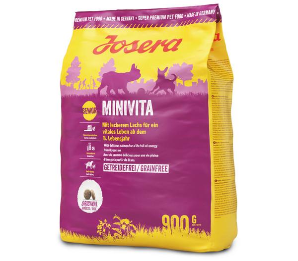 Josera Trockenfutter Minivita Senior, 5 x 900g
