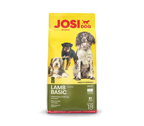 JosiDog Trockenfutter Lamb Basic, 18 kg