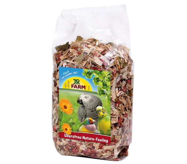 JR Farm Birds Überstreu Nature-Feeling, 500 g