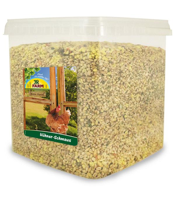 JR FARM Hühnerfutter Basic Food Hühner-Schmaus, 5L