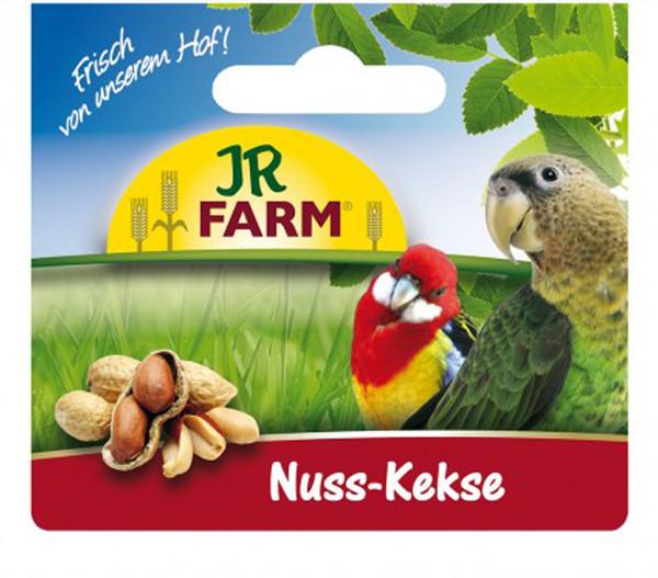 JR Farm Nuss-Kekse für Großsittiche und Papageien, 80 g