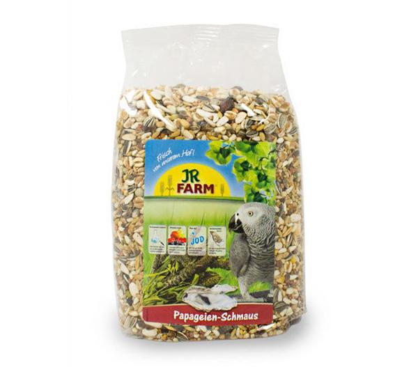JR FARM Vogelfutter Papageien-Schmaus, 1kg