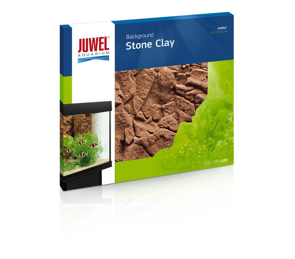 Juwel Aquarium Rückwand Stone Clay