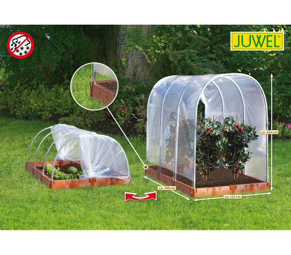 """JUWEL Tomaten-Schutzhaus oder Frühbeet """"2 in 1"""" terracotta"""