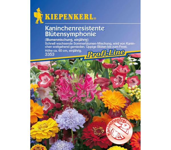 Kaninchenresistente Blütensymphonie Mix, Saatgut von Kiepenkerl
