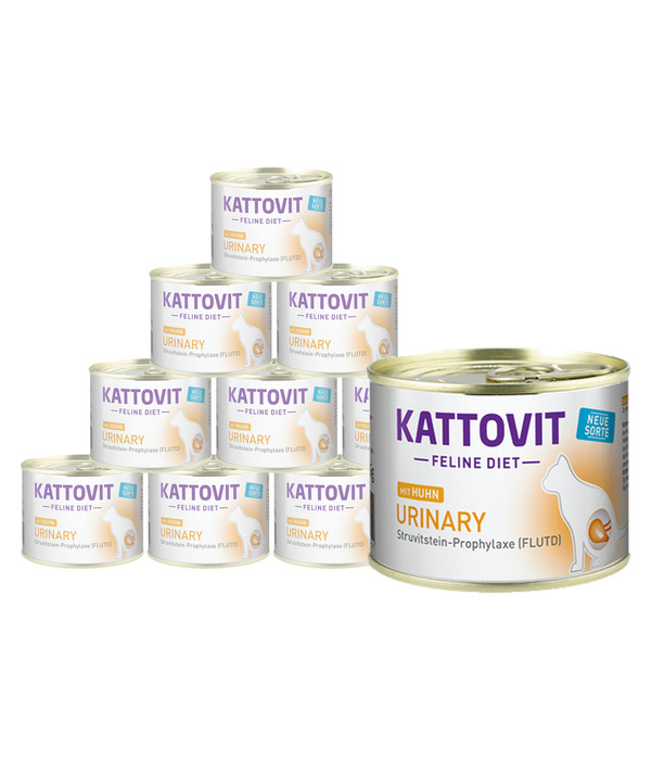 KATTOVIT Feline Diet Nassfutter Urinary, 12 x 185g