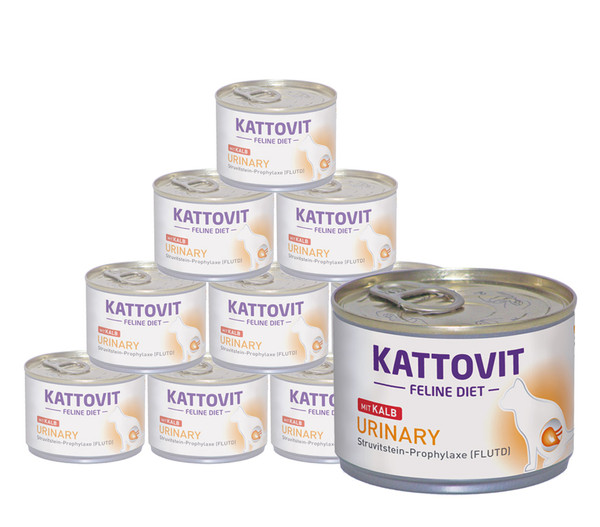 Kattovit Feline Urinary FLUTD, Nassfutter, 12x175g/24x85g