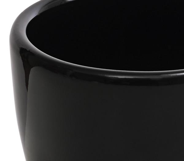 Keramik-Übertopf, Ø 7 cm, rund