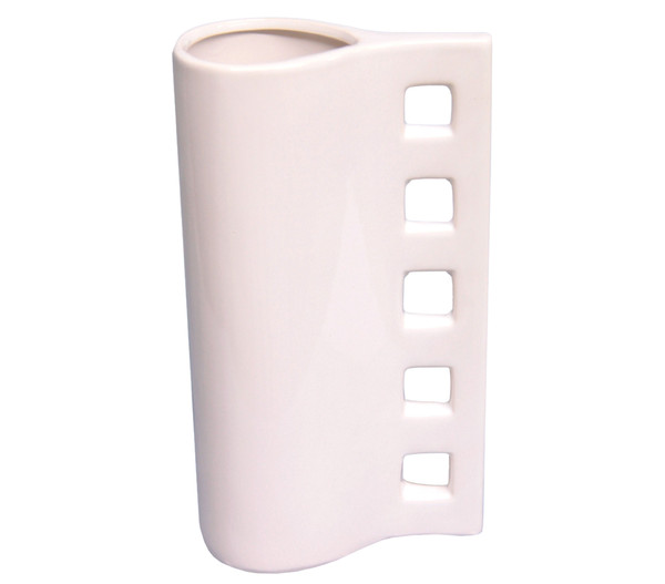 Keramik-Vase, Ø 14 x 26 cm