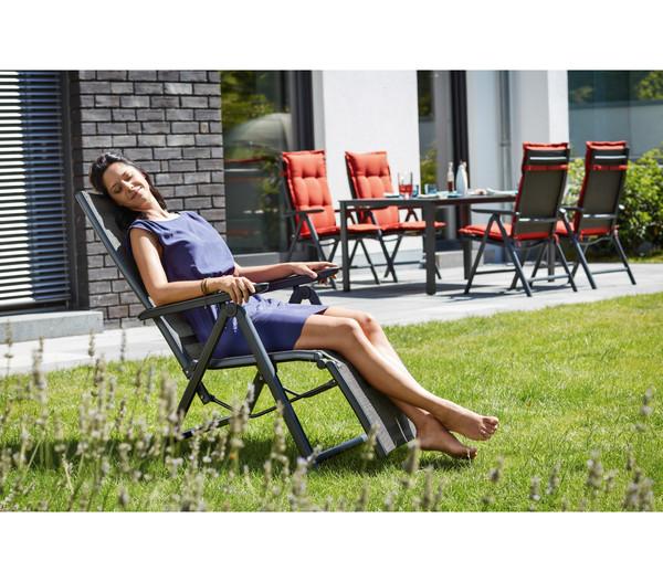 Kettler Relaxsessel Family, 110x61x82 cm, anthrazit/bronze