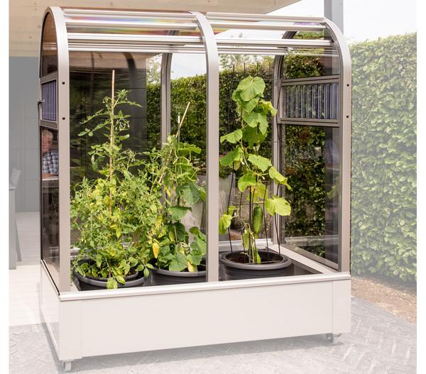KGT Balkon Gewächshaus Florence ohne Wanne