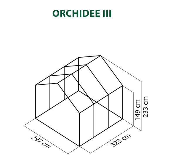 KGT Gewächshaus Orchidee III